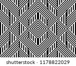 seamless pattern with striped... | Shutterstock .eps vector #1178822029
