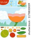 education paper game for... | Shutterstock .eps vector #1178833039