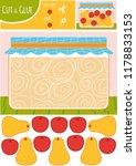 education paper game for... | Shutterstock .eps vector #1178833153