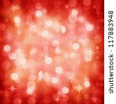Background Of Defocused Red...