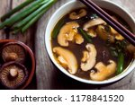 asian mushroom soup   Shutterstock . vector #1178841520