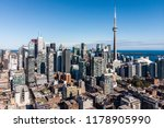 aerial view of downtown toronto ... | Shutterstock . vector #1178905990