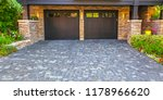 brick stone driveway double... | Shutterstock . vector #1178966620