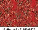 red seamelss vector pattern... | Shutterstock .eps vector #1178967319