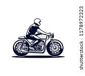 biker vector icon | Shutterstock .eps vector #1178972323