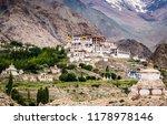 monastery in likir  ladakh ...   Shutterstock . vector #1178978146