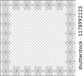 vector elegant square black... | Shutterstock .eps vector #1178992123