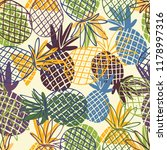 seamless pattern with the image ... | Shutterstock .eps vector #1178997316