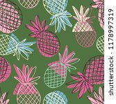 seamless pattern with the image ... | Shutterstock .eps vector #1178997319