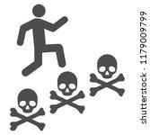 man steps deaths vector...   Shutterstock .eps vector #1179009799