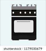 stove vector icon | Shutterstock .eps vector #1179030679