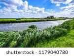 wind on rural river summer...   Shutterstock . vector #1179040780