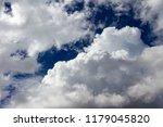 cumulonimbus cloud blue sky | Shutterstock . vector #1179045820