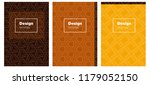 dark orange vector pattern for...