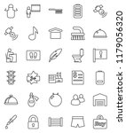 thin line vector icon set  ... | Shutterstock .eps vector #1179056320