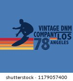 vintage surf graphic...