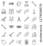 thin line vector icon set  ... | Shutterstock .eps vector #1179058570