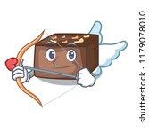 cupid character cartoon almond... | Shutterstock .eps vector #1179078010