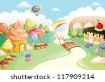a vector illustration of... | Shutterstock .eps vector #117909214