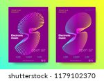 electronic music party poster... | Shutterstock .eps vector #1179102370