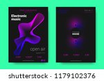 poster of electronic music... | Shutterstock .eps vector #1179102376