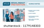 sexual assault prevention and... | Shutterstock .eps vector #1179148303