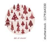 winter holidays banner design... | Shutterstock .eps vector #1179164230