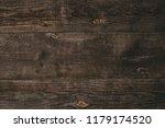 wooden gray striped grungy... | Shutterstock . vector #1179174520