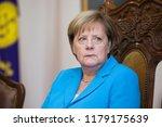 german chancellor angela merkel ... | Shutterstock . vector #1179175639