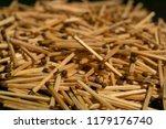 wooden match. matches for... | Shutterstock . vector #1179176740