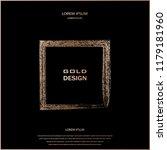 bronze glitter  sparkles... | Shutterstock .eps vector #1179181960