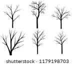 tree and branch drawing  black... | Shutterstock . vector #1179198703