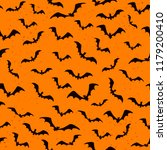 dark orange seamless background ... | Shutterstock .eps vector #1179200410