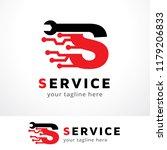 letter s logo template design... | Shutterstock .eps vector #1179206833