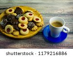 coffee and different types of... | Shutterstock . vector #1179216886