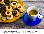 coffee and different types of... | Shutterstock . vector #1179216910