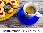 coffee and different types of... | Shutterstock . vector #1179216916