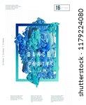 abstract music poster design.... | Shutterstock .eps vector #1179224080
