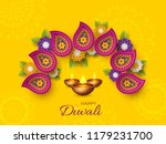 diwali festival holiday design... | Shutterstock .eps vector #1179231700