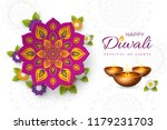 diwali festival holiday design... | Shutterstock .eps vector #1179231703