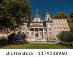 st. erhard's church ... | Shutterstock . vector #1179238960