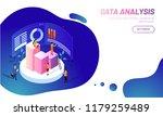 data analysis concept based... | Shutterstock .eps vector #1179259489