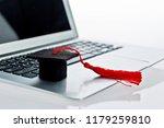 close up of laptop computer... | Shutterstock . vector #1179259810