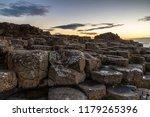 giants causeway sunset   Shutterstock . vector #1179265396