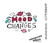 mood changes. vector... | Shutterstock .eps vector #1179288649