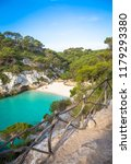menorca  spain   june 29  2018  ... | Shutterstock . vector #1179293380