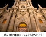 ancient catholic church in... | Shutterstock . vector #1179293449
