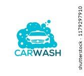 car wash logo | Shutterstock .eps vector #1179297910
