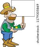 cartoon illustration of a... | Shutterstock . vector #1179305869