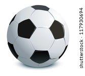 soccer ball | Shutterstock .eps vector #117930694